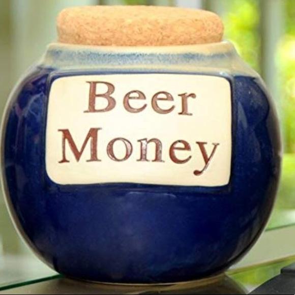 Tumbleweed Beer Money Jar